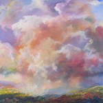 BEFORE JEMEZ, 30X30, Macpherson, acrylic on canvas