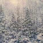 SNOWING 22X30