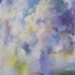 TOWARD HERON, Angus Macpherson, 28x24, acrylic on canvas, 2011