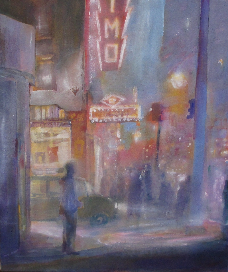One of several Night City Paintings